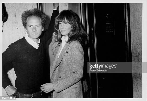 Musician Art Garfunkel and actress Laurie Bird at the ABC Television reception Century Plaza Hotel California June 1978