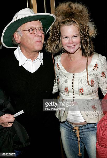 Musician Art Garfunkel and his wife Kim Cermank attend the New York Gala Premiere of Gypsy of Chelsea at Studio 54 December 12 2005 in New York City