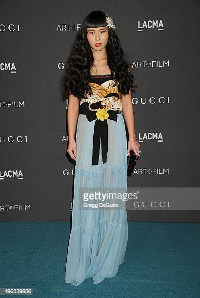 Musician Asia Chow arrives at the LACMA 2015 ArtFilm Gala Honoring James Turrell And Alejandro G Inarritu Presented By Gucci at LACMA on November 7...