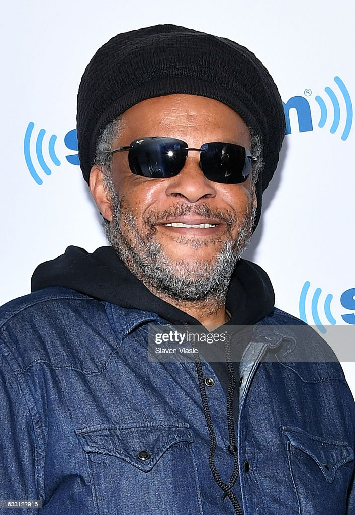 Musician Astro of reggae/pop band 'UB40' visits SiriusXM Studios on January 30, 2017 in New York City.