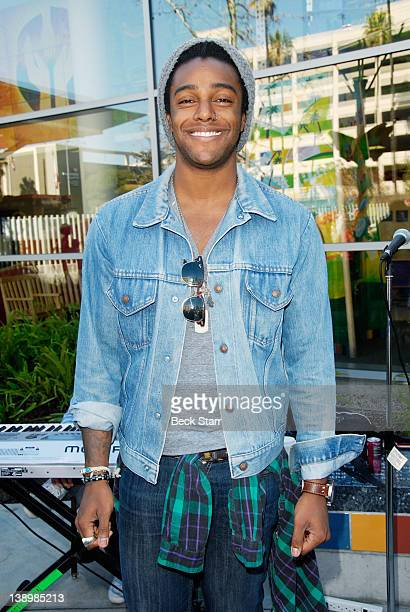 Musician Austin Brown attends Trueheart Events 1st annual All You Need Is Love Valentine's Day Party at Children's Hospital Los Angeles on February...