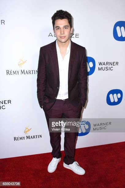Musician Austin Mahone attends the Warner Music Group GRAMMY Party at Milk Studios on February 12 2017 in Hollywood California