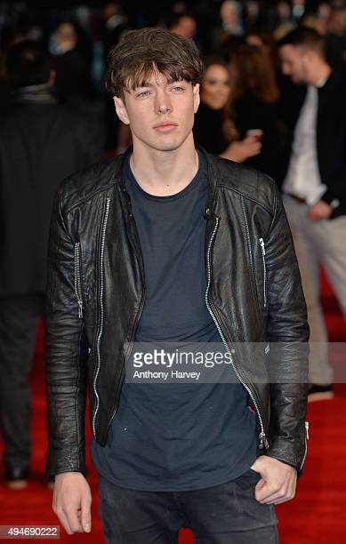 Musician Barns Courtney attends the Burnt European premiere at the Vue West End on October 28 2015 in London England