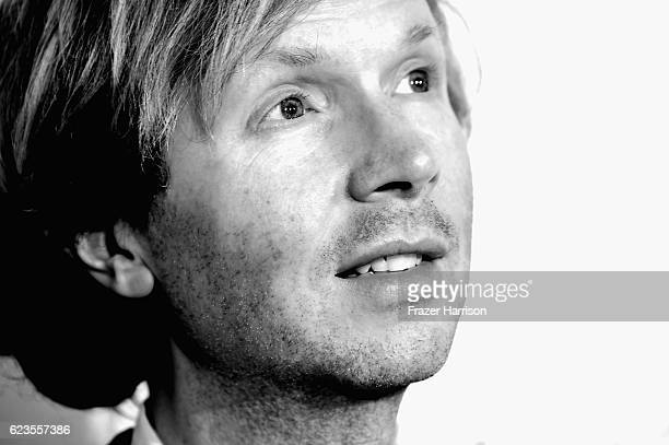 Musician Beck arrives at Perry Capitol Records 75th Anniversary Gala at Capitol Records Tower on November 15, 2016 in Los Angeles, California.