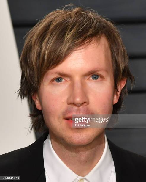 Musician Beck attends the 2017 Vanity Fair Oscar Party hosted by Graydon Carter at the Wallis Annenberg Center for the Performing Arts on February 26...