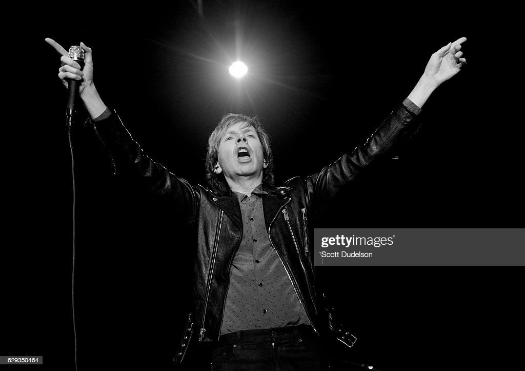 Musician Beck performs onstage during KROQ's Almost Acoustic Christmas at The Forum on December 11, 2016 in Inglewood, California.