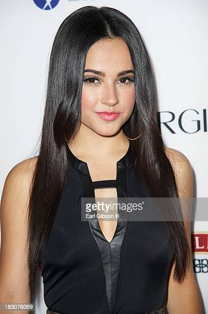 """Musician Becky G attends the Latina Magazine """"Hollywood Hot List"""" Party at The Redbury Hotel on October 3, 2013 in Hollywood, California."""