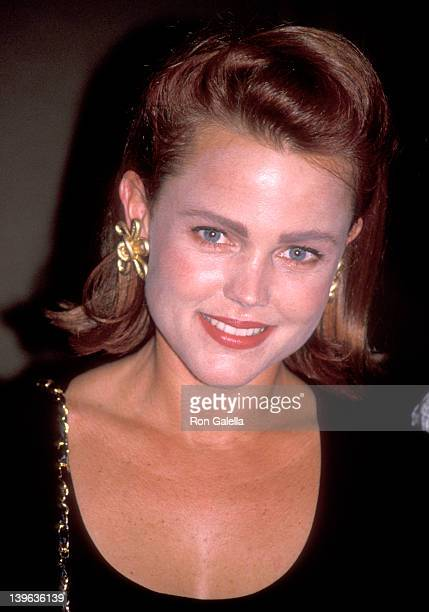 Musician Belinda Carlisle of The GoGo's attends the 35th Annual Thalians Ball on October 13 1990 at Century Plaza Hotel in Los Angeles California