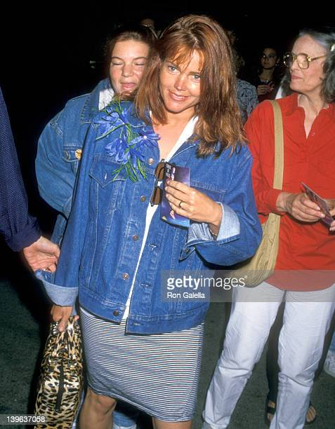 Musician Belinda Carlisle of The GoGo's attends the Cirque du Soleil Performance on March 27 1988 at the Santa Monica Pier in Santa Monica California