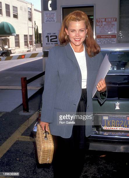 Musician Belinda Carlisle of The GoGo's attends the Environmental Media Association Press Conference on June 24 1989 at Lorimar Studios in Culver...