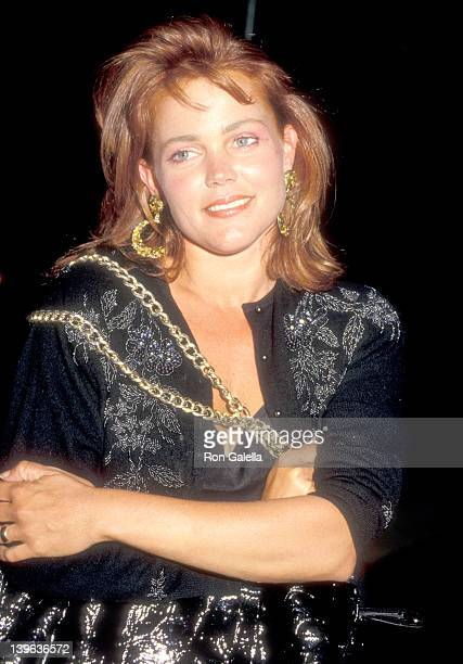 Musician Belinda Carlisle on June 3 1987 dines at Spago in West Hollywood California