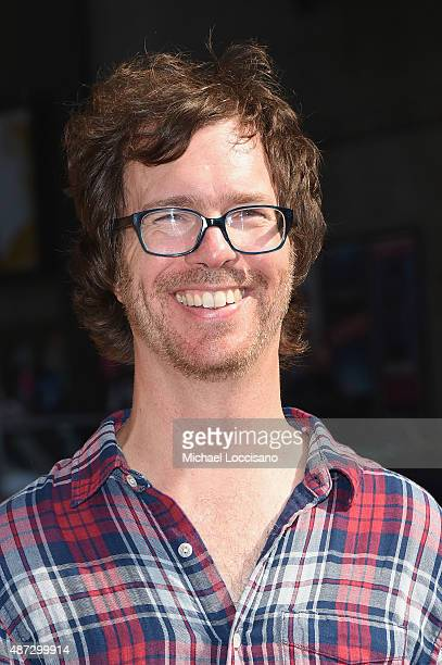 Musician Ben Folds attends the first taping of The Late Show With Stephen Colbert on September 8 2015 in New York City