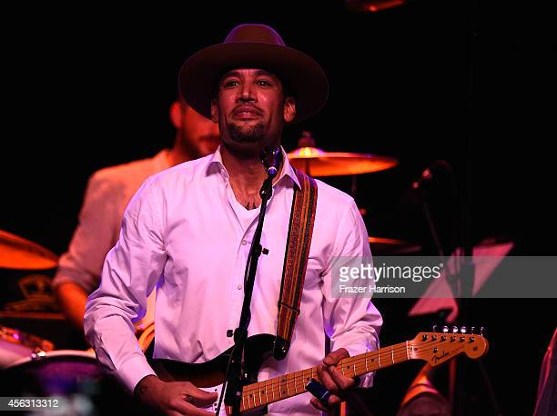 Musician Ben Harper performs at The Best Fest Presents GEORGE FEST An Evening To Celebrate The Music Of George Harrison at The Fonda Theatre on...