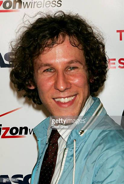 Musician Ben Lee poses for a photo at the ASCAP / Tribeca Music Lounge at The 2007 Tribeca Film Festival on May 4 2007 in New York City