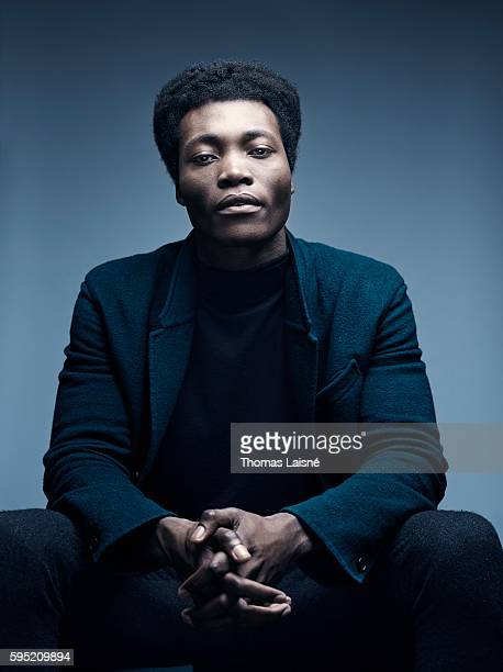 Musician Benjamin Clementine is photographed for Self Assignment on December 18 2014 in Paris France