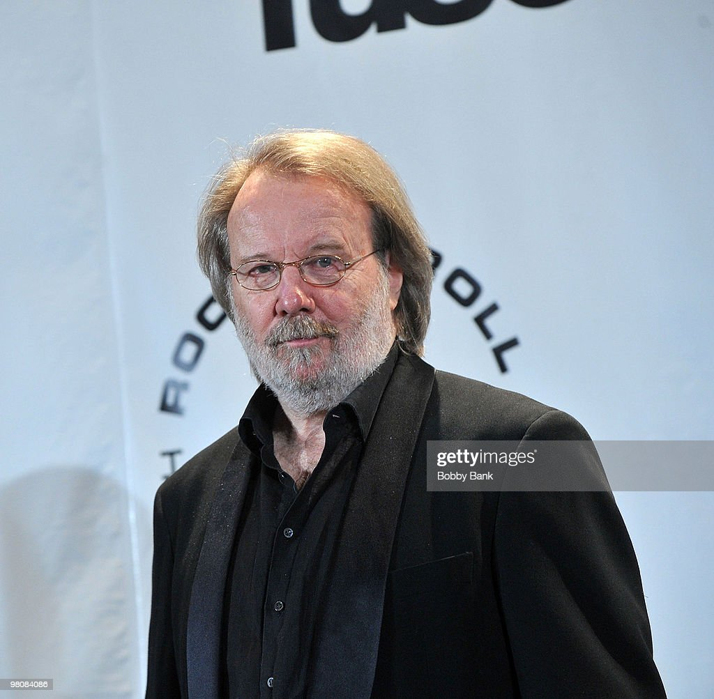 Musician Benny Andersson of ABBA attends the 25th Annual Rock and Roll Hall of Fame Induction Ceremony at The Waldorf-Astoria on March 15, 2010 in New York, New York.