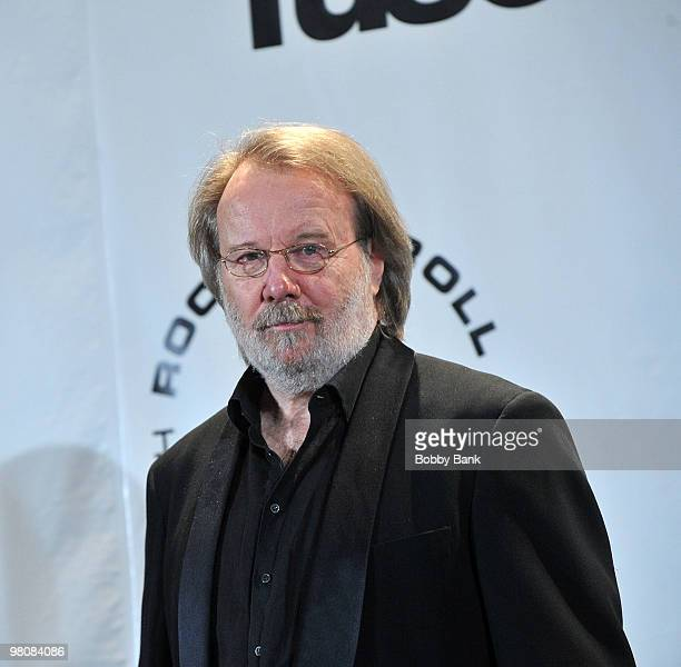 Musician Benny Andersson of ABBA attends the 25th Annual Rock and Roll Hall of Fame Induction Ceremony at The WaldorfAstoria on March 15 2010 in New...