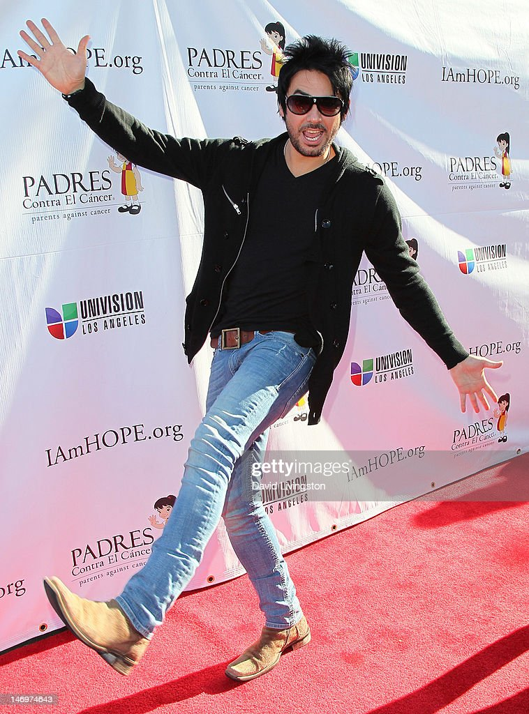 Musician Beto Cuevas attends Padres Contra El Cancer's 5th Annual Stand for HOPE! 5k Run/Walk at the Rose Bowl on June 24, 2012 in Pasadena, California.