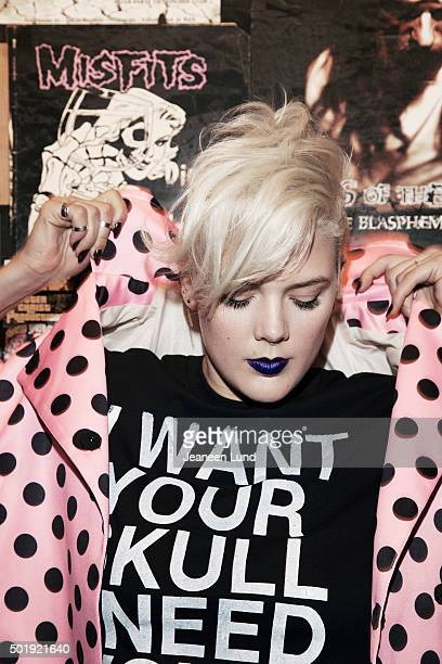 Musician Betty Who is photographed for Untitled Magazine on May 1 2015 in New York City