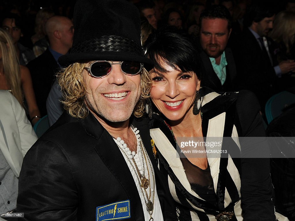 Musician Big Kenny (L) of Big & Rich and Christiev Alphin attend the 48th Annual Academy of Country Music Awards at the MGM Grand Garden Arena on April 7, 2013 in Las Vegas, Nevada.