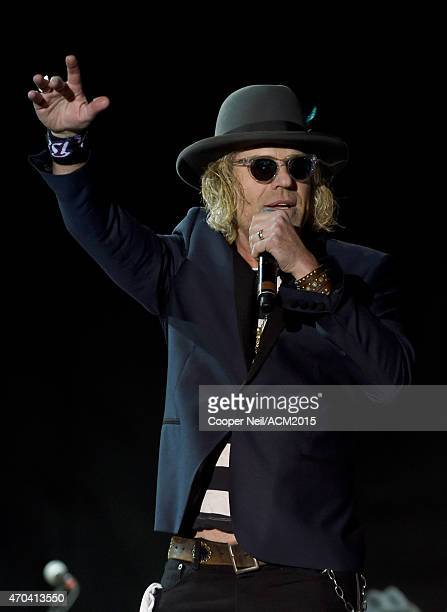 Musician Big Kenny of Big Rich performs onstage during the 50th Academy Of Country Music Awards All Star Jam at ATT Stadium on April 19 2015 in...