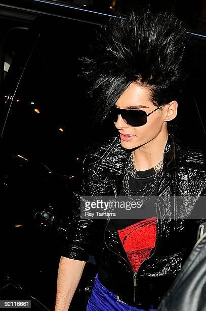 Musician Bill Kaulitz of Tokio Hotel enters Best Buy on October 20 2009 in New York City