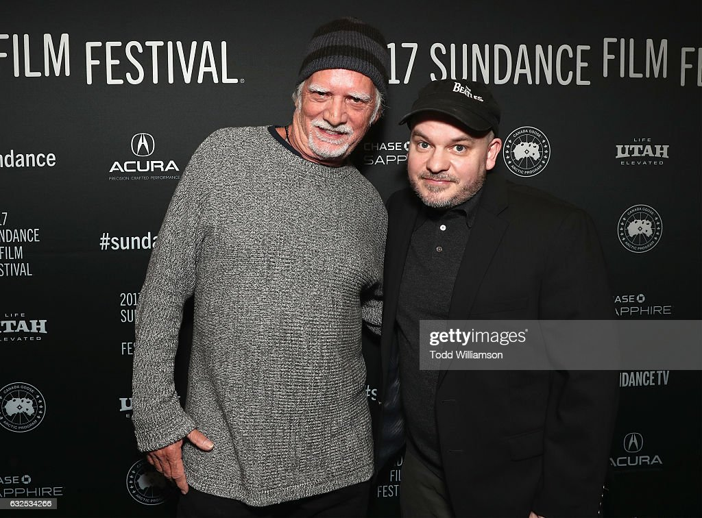 Musician Bill Kreutzmann (L) and Justin Kreutzmann attend the premiere of Amazon Studios' 'Long Strange Trip' at the 2017 Sundance Film Festival at Yarrow Hotel Theater on January 23, 2017 in Park City, Utah.