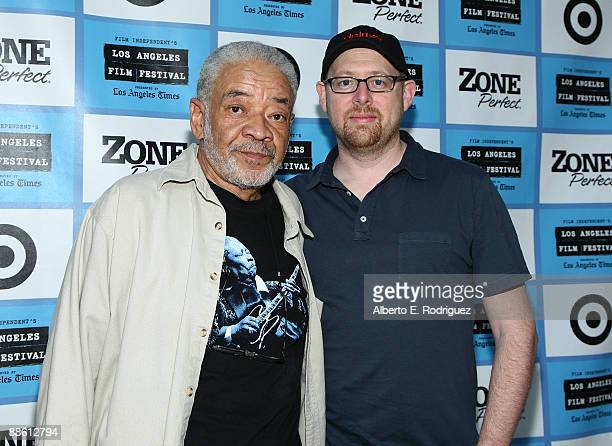 Musician Bill Withers and director Jeffrey LevyHinte arrive at the 2009 Los Angeles Film Festival's Soul Power Music by Kori Withers at the John...