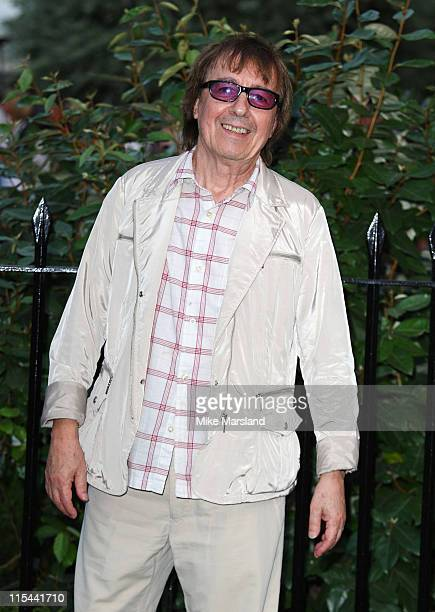 Musician Bill Wyman arrives at Sir David Frost's Summer Party on July 2 2009 in London England