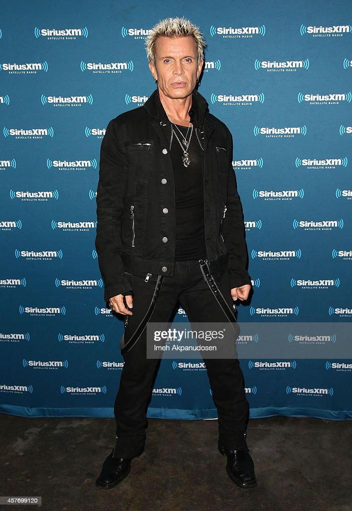 Billy Idol Performs For SiriusXM's Artist Confidential Series At The Troubador In Los Angeles : News Photo