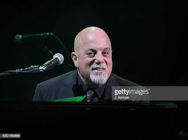 Musician Billy Joel performs at Madison Square Garden on December 17 2016 in New York City