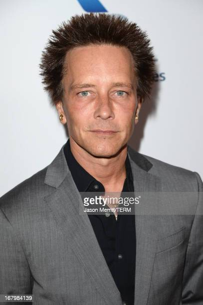 Musician Billy Morrison attends the 20th Annual Race To Erase MS Gala Love To Erase MS at the Hyatt Regency Century Plaza on May 3 2013 in Century...