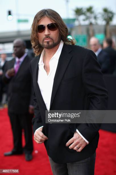 Musician Billy Ray Cyrus attends the 56th GRAMMY Awards at Staples Center on January 26 2014 in Los Angeles California
