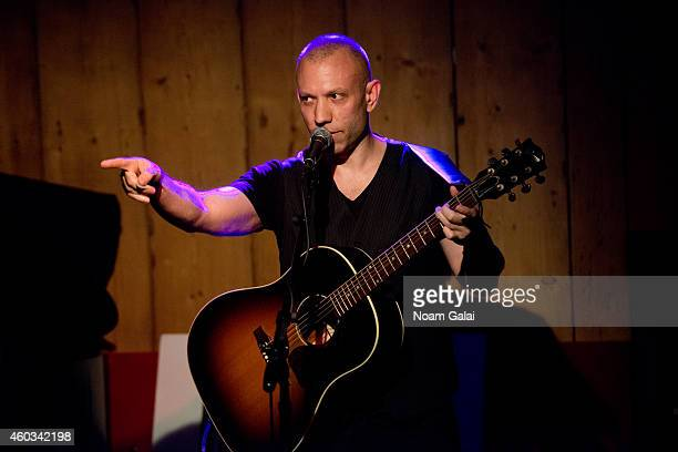 Musician Blake Morgan performs at Rockwood Music Hall on December 11, 2014 in New York City.