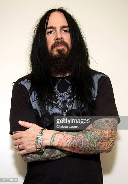 Musician Blasko of Ozzy Osbourne poses at the Ed Hardy Watches showroom on September 9, 2008 in North Hollywood, California.