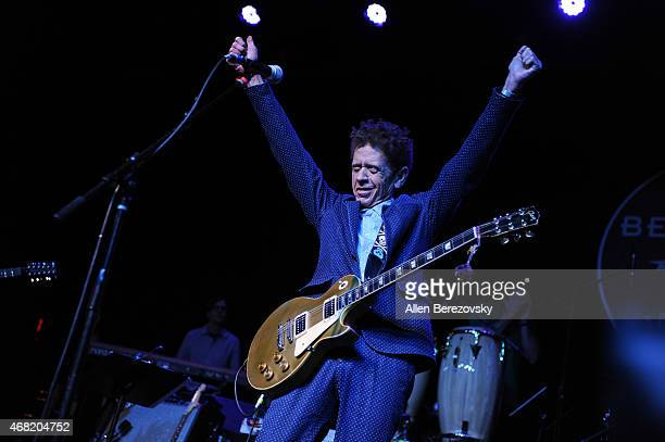 Musician Blondie Chaplin performs onstage during Brian Fest: A Night to Celebrate the Music of Brian Wilson at Fonda Theater on March 30, 2015 in Los...