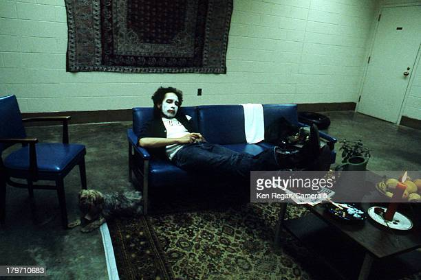 Musician Bob Dylan is photographed backstage during the Rolling Thunder Revue in 1975 CREDIT MUST READ Ken Regan/Camera 5 via Contour by Getty Images