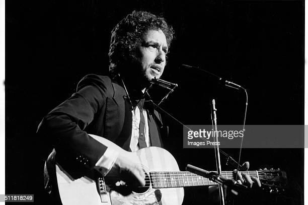 Musician Bob Dylan photographed in New York City circa 1974