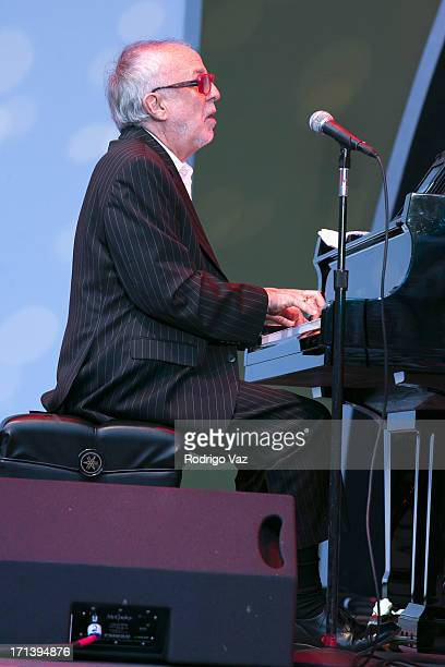 Musician Bob James performs at the 35th Anniversary Playboy Jazz Festival Day 2 at the Hollywood Bowl on June 16 2013 in Hollywood California