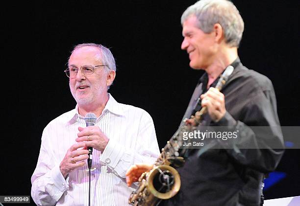 Musician Bob James performs during Tokyo Jazz 2008 at Tokyo International Forum on August 31 2008 in Tokyo Japan