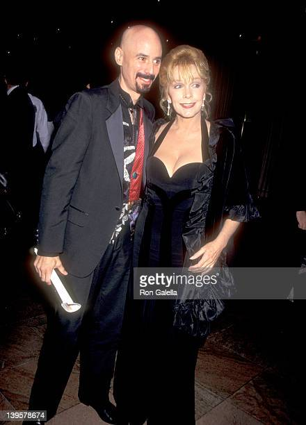 """Musician Bob Kulick and actress Stella Stevens attend the """"Night of 200 Stars"""" Second Annual International Achievement in Arts Awards on December 2,..."""