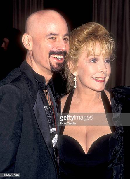 Musician Bob Kulick and actress Stella Stevens attend the Night of 200 Stars Second Annual International Achievement in Arts Awards on December 2...
