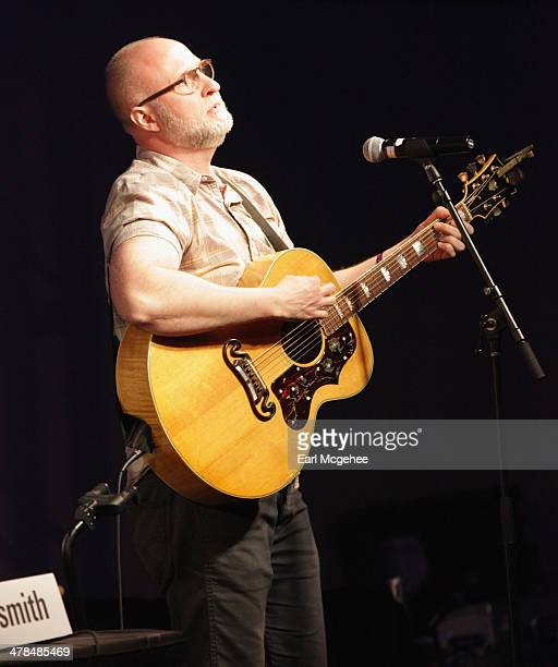 Musician Bob Mould performs onstage at Warehouse Songs and Stories during the 2014 SXSW Music Film Interactive at Austin Convention Center on March...