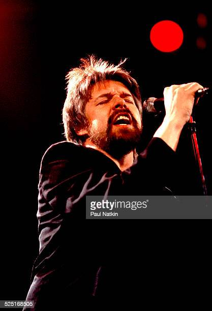 Musician Bob Seger performs at the Poplar Creek Music Theater Hoffman Estates Illinois August 13 1986