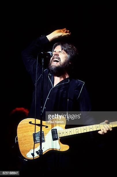 Musician Bob Seger performs at the Poplar Creek Music Theater Hoffman Estates Illinois July 9 1983
