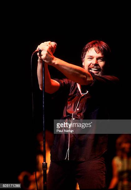 Musician Bob Seger performs at the Poplar Creek Music Theater Hoffman Estates Illinois July 9 1983