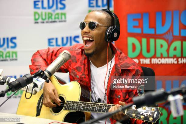 Musician BoB visits 'The Elvis Duran Z100 Morning Show' at Z100 Studio on March 1 2012 in New York City