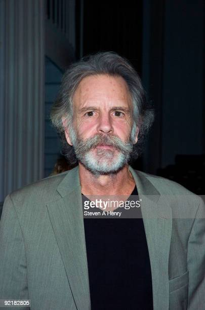 Musician Bob Weir attends a fundraising reception in support of the new exhibition 'The Grateful Dead Now Playing' at the NewYork Historical Society...