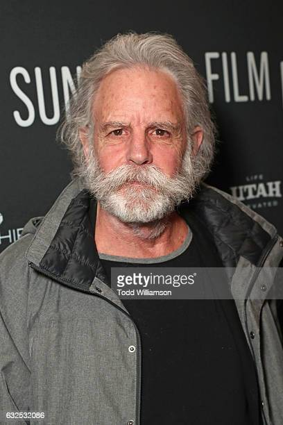 Musician Bob Weir attends the premiere of Amazon Studios' 'Long Strange Trip' at the 2017 Sundance Film Festival at Yarrow Hotel Theater on January...