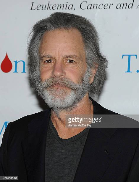 Musician Bob Weir attends the TJ Martell Foundation's commemorative plaque presentation to Bob Weir in appreciation of his support funding cancer and...